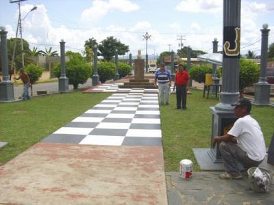 Plaza de Miranda de Guasipati (Venezuela)